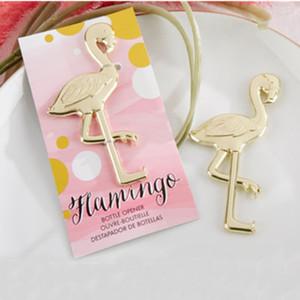 """FREIES VERSCHIFFEN 50 STÜCKE Gold """"Phantasie und Gefiederten"""" Flamingo Flaschenöffner Hochzeit Gefälligkeiten Ereignis Partei Liefert Bier Flaschenöffner"""