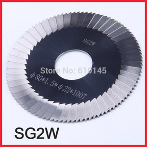SG2W Carbide tungsten steel 80*1.5*22mm*100T key cutter