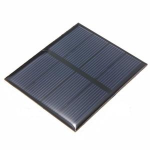 Оптом! Высокое качество 2 в 0.6 Вт мини солнечных батарей поликристаллических эпоксидной панели солнечных батарей DIY солнечный модуль образования комплекты 82*70 мм 50 шт. / лот
