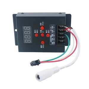 Edison2011 T-500 WS2811 WS2801 LPD6803 Mini controller LED RGB intelligente per 5050 Magic Dream Colore RGB LED Strip Module