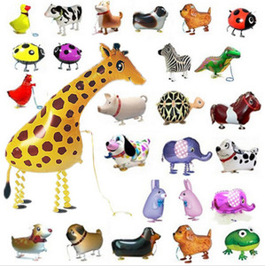Walking balloon pets Hybrid models of animal balloons aluminum foil balloon animals, walking animals pet balloons children's toys