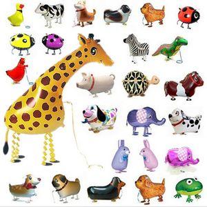 Passeggino palloncino animali domestici Modelli ibridi di palloncini animali foglio di alluminio palloncino animali, animali da compagnia palloncini per animali giocattoli per bambini
