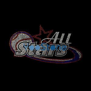Все Звезды Горный Хрусталь Бейсбол Передачи Мотив Железа На Трансферы