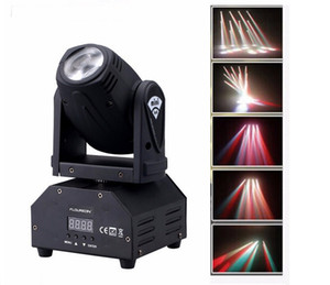 led 4IN1 mini-LED Spot Moving Head Light som ativado Mini Moving Head Light DMX dj luzes do palco de efeito / KTV bar discoteca