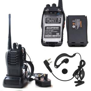 Baofeng BF-888S тактический беспроводной портативный Walkie Talkie 5 Вт 400-470 МГц двухстороннее Радио домофон мобильный портативный