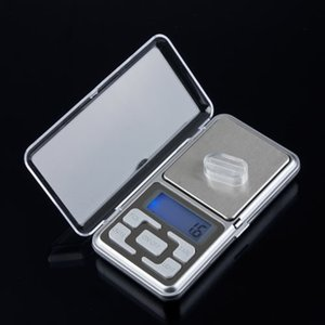 Wholesale-1pc 500g 0.1g Stainless steel Scale Electronic Mini Digital Pocket Weight scale Balance digital scales LCD jewelry