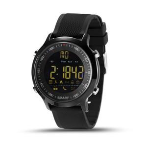 IP67 Impermeable EX18 Reloj inteligente Soporte Llamada y alerta por SMS Podómetro Actividades deportivas Rastreador Reloj de pulsera Reloj inteligente