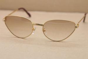 1185213 caliente sol del metal para hombre vidrios de las mujeres C Decoración vidrios del marco del marco del oro estructura de metal de oro gafas de sol Tamaño: 56-19-135mm