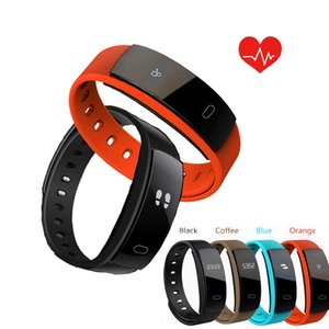QS80 Bluetooth Smart Band Bracelet Wristband Heart Rate and Blood Pressure Sleep Monitoring for IOS Android Smartphone VS TW64
