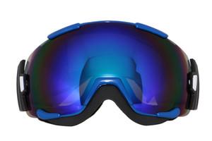 2017 nueva marca al aire libre gafas de snowboard profesional doble anti niebla grande esférica gafas de esquí nieve Deporte gafas de motocross