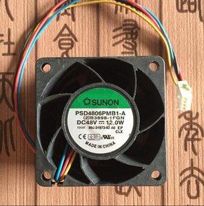 SUNON 6CM 6038 48V 12W PSD4806PMB1-A servidor grande de 4 líneas ventilador