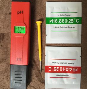 Vente chaude Numérique LED PH Mètre Poche Stylo Moniteur de la qualité de L'eau Testeur 0-14 mesure pour Aquarium ou laboratoire