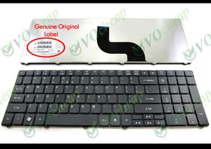 Acer Aspire 5536 5536G IÇIN hakiki Yeni Dizüstü Laptop klavye 5738 5738g 5810 5810 T 7735 5336 5410 5532 5252 5742G 5742Z Siyah