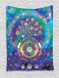 Indian Bohemian Mandala Wall Decorative Hanging Tapestries Bedspread Ethnic Throw Art Floral Towel Beach Meditation Yoga Throw Mat Blanket