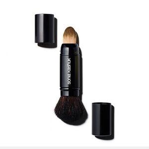 Brand SK sonia kashuk Pennelli trucco professionale per capelli di capra con pennelli per make-up contorno viso in polvere nera.