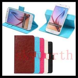 360 Rotante universale portafoglio in pelle magnetica copertura della cassa della carta di caso per Samsung Galaxy S6 bordo S7 Nota 7 iphone 6S 7 PLUS