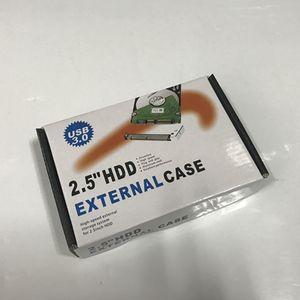 USB 3.0 2.5 pouces HDD Micro Case B Disque dur externe Boîtier Disque avec le paquet détail 100pcs / lot dhl gratuit