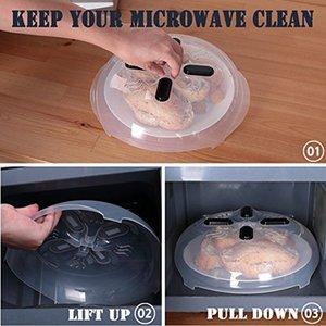 Mikrodalga Vurgusu Anti-Sputtering Kapak, Yeni Gıda Sıçrama Guard Mikrodalga Splatter Kapak Buhar Delikleri ile 11.5 Inç
