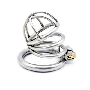 304 جهاز جديد قفل الديك الفولاذ المقاوم للصدأ الصلب A231-2 chastity GMNOK