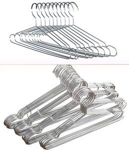 45 cm ~ 32 cm Edelstahl starke Metalldrahtaufhänger Kleiderbügel, Metallaufhänger, Anzug Kleiderbügel Kleiderbügel