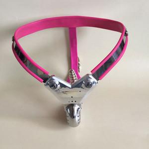 Dispositivo dispositivo Prodotto Giocattolo Prodotto Lesbian Adulto inossidabile Gay Cintura anale / Chastity Chastity Belt Belt / Chastity New Plug TMSKJ