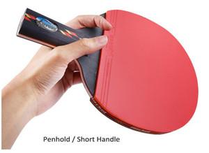 مضارب تنس الطاولة REGAIL مضرب تنس الطاولة بينج بونج One Penhold (مقبض قصير) كرة مضرب مضرب 9.45 × 5.91 × 0.98 بوصة BZ