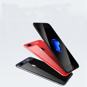 للحصول على 8 زائد فون X الهاتف 7 6 حالة الغلاف الخلفي حالة TPU واضح ضد الصدمات حامي القضية الهاتف الخليوي لفون 8
