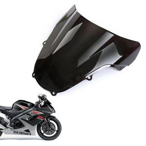 Nuevo parabrisas doble burbuja parabrisas Shield para Suzuki GSXR600 GSXR750 2001 2002 2003 K1