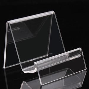 6.5 * 7 * 6.5CM claras pulseras brazaletes de acrílico sostenedor del reloj exhibición del estante de la joyería cartera con el nuevo diseño agradable A89