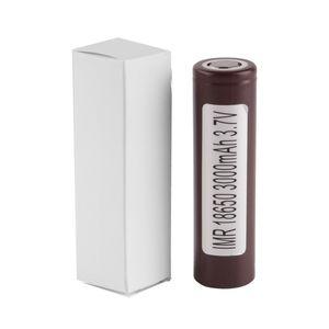 El más nuevo HG2 25R 30q 18650 batería INR 3.7V 20A de litio recargable para E CIG Box Mod con 3000mah 3400mah 2500mah