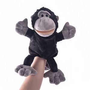 dessin animé Nici marionnette animal en peluche jouet shippo coccinelle loup girafe raton laveur crocodile stéréo marionnette bébé racontant l'histoire 1pc