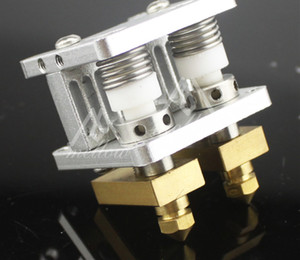 Freeshipping imprimante 3D Heaterblock Ultimaker 2 + UM2 Extrudeuse à double têtes Olsson kit ventilateurs de bloc Buses 0.25--0.8mm HotEnd pour 1.75 / 3mm