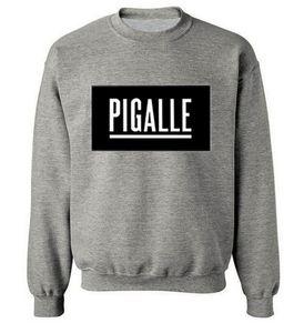 Pigalle sweat o cou célèbre marque hip hop style hoodie Rock meilleur prix casual sportswear gratuit drop shipping hommes vêtements