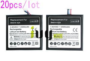20шт/много 2500мАч B0PFH100 аккумуляторная батарея для HTC Desire глаз M910X M910n батареи Батарея Batteria