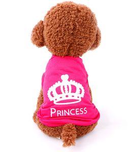 Wholesale Pet Appareal Clothes Puppy Dog Cat shirts dog vest pet clothes Dog Cloth Pink Vests
