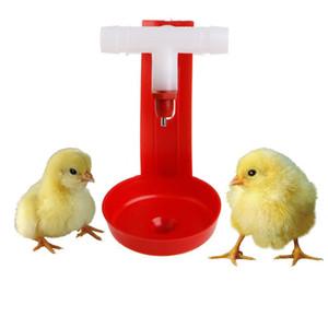10 pcs Animaux de la Ferme Automatique Oiseau Coop Alimentation Poulet Volaille Buveur Boire De L'eau Tasses Pendaison Poulet Pour Outil De Beauté Nouveau