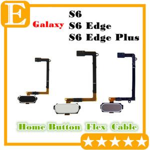 OEM para Samsung Galaxy S6 Edge Plus Botón de inicio Botón de tecla de retorno Botón de menú Flex Cable Piezas de repuesto para G920 VS G925 G928