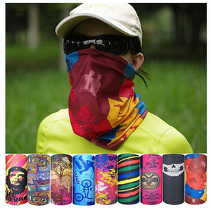 Multifunctional Seamless Magic Scarf Variety Warm Halloween Cosplay Bicycle Cs Ski Headwear Half Face Bandana Party Mask 236 models