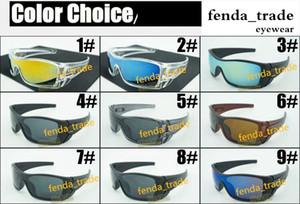 Sconto prezzo MOQ = 10pcs HOT Sunglasses Men Bat Rectangular Sunglasses wolf New Fashion Sunglasses Time Limited per mrn Spores Fashion