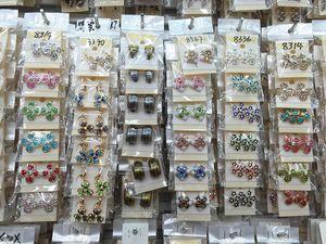 Cantidad superior de la manera exquisita exquisita joyería cristalina Ear Stud Earrings para mujeres mejor regalo al por mayor pares