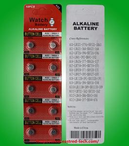 3000pcs AG2 LR59 396A LR726 SR726 197 batterie montre piles bouton alcaline 1.5V 10PCS / PACKS