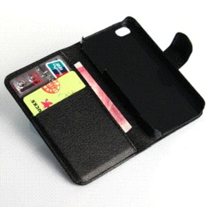 Colorful Pouch Flip Leather Hard Skin Case full protect Cover iPhone 4 4S Case accessories Mobile Phone Cases