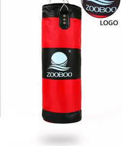 ZOOBOO Genuine 60-100cm Hook Fitness Training MMA Boxing Bag Hanging saco de boxe Calcio Lotta sacchetto di sabbia Punch Bag Sandbag