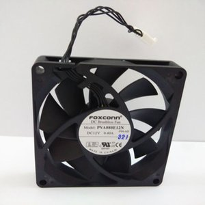 Ventilateur de refroidissement CC d'origine FOXCONN PVA080E12N 8015 12V 0.40A 80 * 80 * 15mm