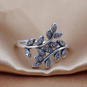 2016 charms rings s925 ale 스털링 실버 럭셔리 플라워 프린트 판도라 링 박스 새겨진 밴드 링