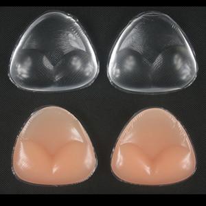 Gel doux Bikini Soutien-gorge en silicone Insert Inserts Décolleté Enhancement Triangle Pads Enhancer maillot de bain push-up
