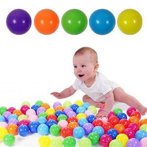 5.5CM بالون أطفال الطفل ينمو المحيط الكرة ألعاب الماء متعة الرمال لعب الكرة الخرز هلام هلام متعدد الألوان عيد الميلاد مهرجان بالون IB237