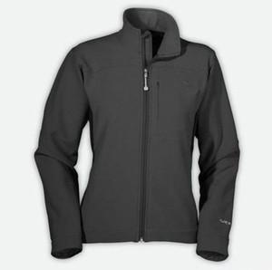 2017 exterior de lana de invierno woMen's SoftShell Chaquetas de moda Apex Bionic a prueba de viento a prueba de agua térmica para senderismo Camping Ski Down Sportswear