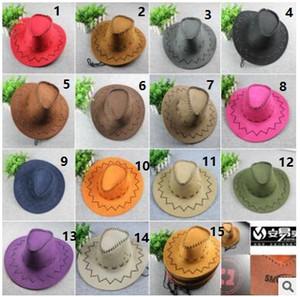 Sombrero occidental del sombrero de vaquero sombrero de Mongolia pradera sol del verano turismo al aire libre sombrero de caballero