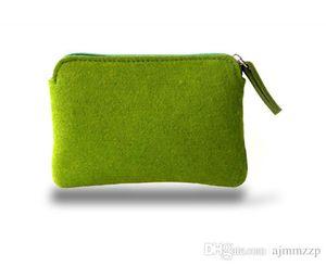 New felt makeup wash bag Cosmetic bag simple sundries bag drop shipping Can be customized adding logo